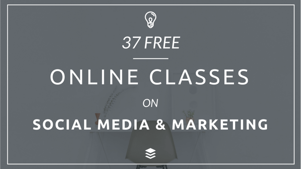 37 free social media marketing courses