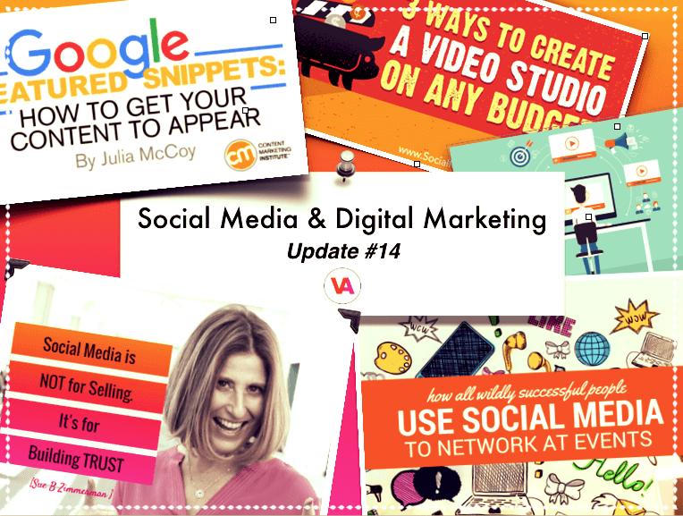 Social Media Digital Marketing Update 14