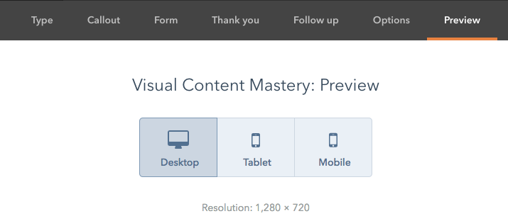 Preview HubSpot Lead Flow