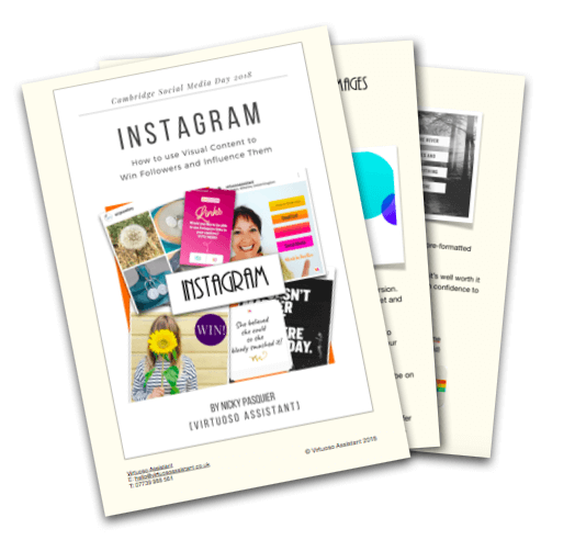 Free eBook - Start getting your brand noticed online with visual content