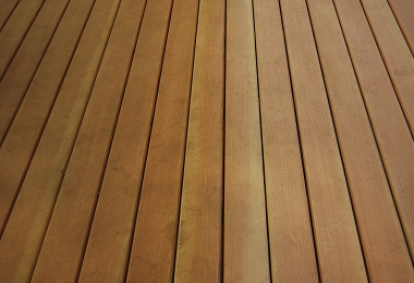 water RESISTANT hardwood decking