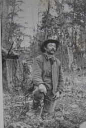 Swedish immigrant Andrew Anderson (Anders Aronsson) came from a long line of blacksmiths, sailed to New York in 1876, and became a farmer in Wisconsin.