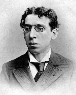 Israel Zangwill.  Source: Wikipedia