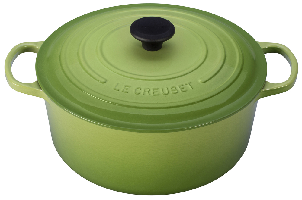 LeCreuset 7.25qt French Oven in Palm