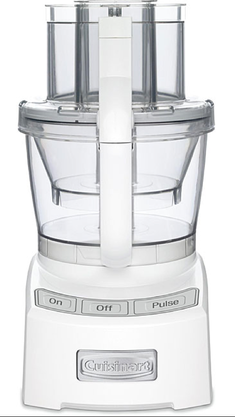 Cuisinart 12 Cup Food Processor in Elite White