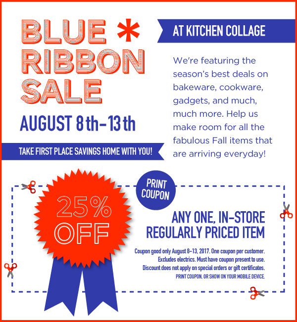 Blue Ribbon Sale
