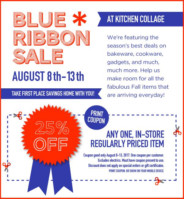 Blue Ribbon Sale