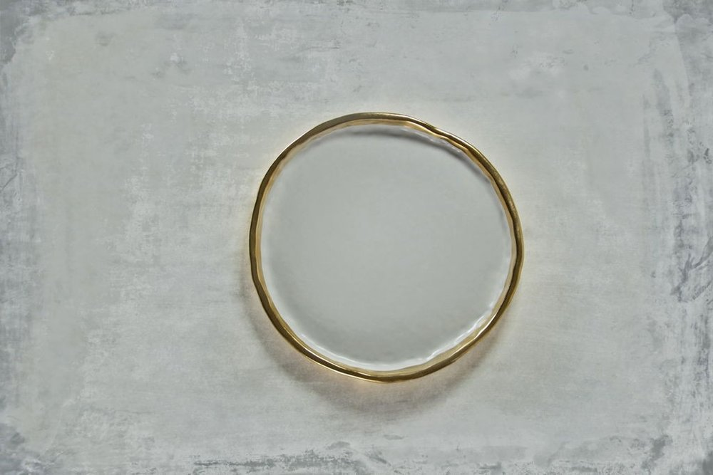 "Montes Doggett 22K Gold ""Plate No. Two Hundred Three"""