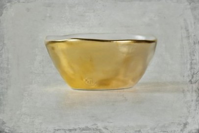 "Montes Doggett 22K Gold ""Bowl No. Two Hundred Four"""