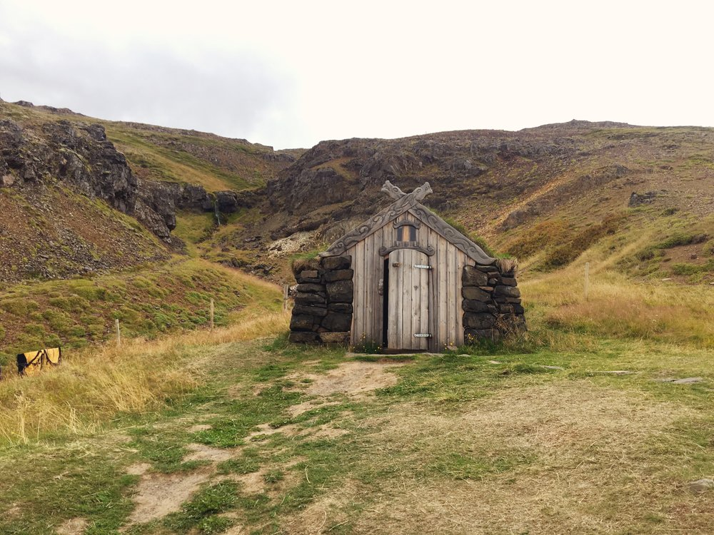 Changing hut or leftover set piece from LOTR?