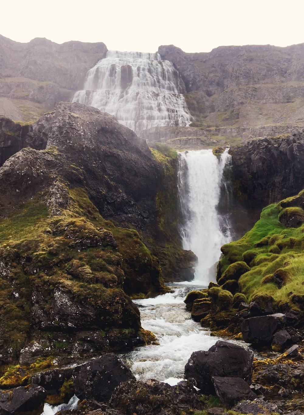 Seriously an epic waterfall. It is so tall and in the middle of rocks. No other nature for miles!