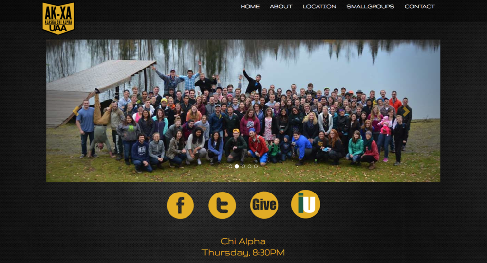 UAA Chi Alpha Website