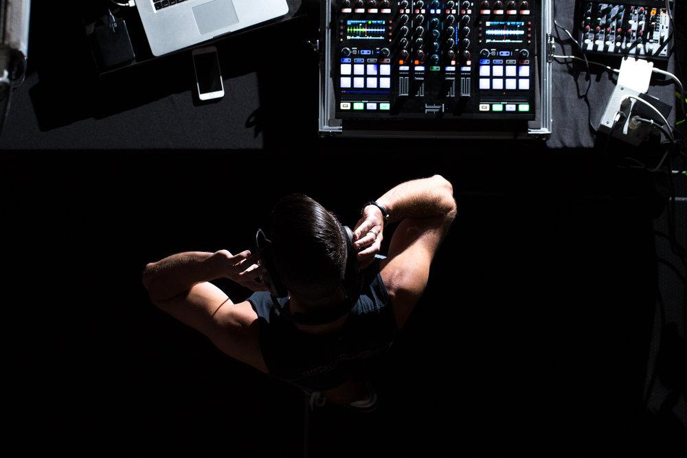 DJ // Jayson Spank // Enviromental Portraiture