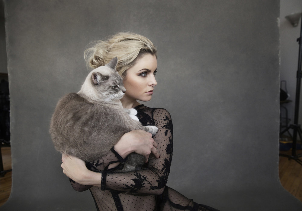 Photographing Pets and Fashion - Posing, styling, and fashion inspired pet portraits.
