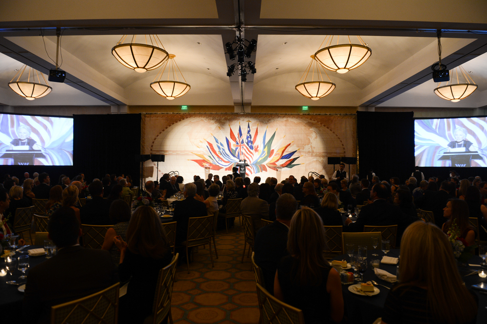The 2014 Woodrow Wilson Center Awards.