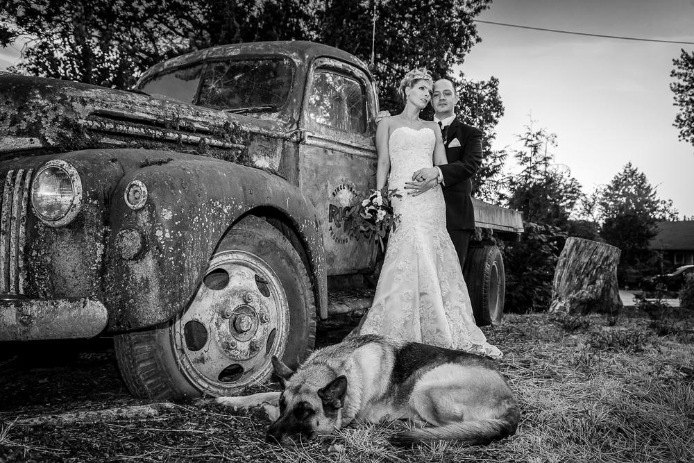 Elza & Carl - Backyard Wedding