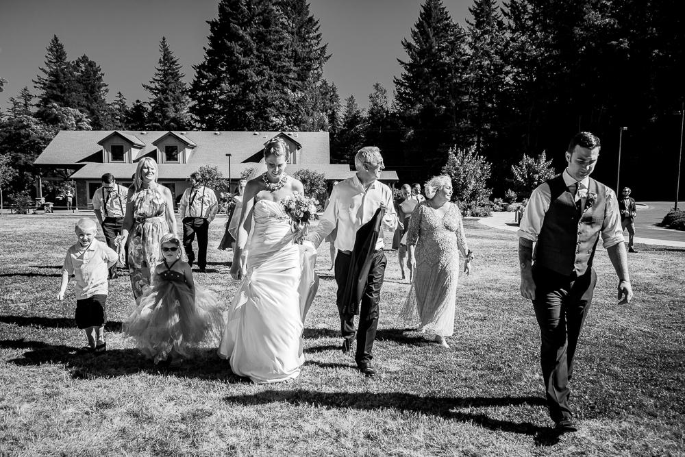 Whitney & Tom - Lacamas Lake Lodge Wedding