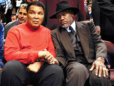 Ali and Frazier: The best of enemies.
