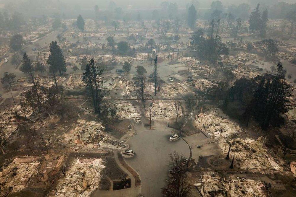(Photo: Coffey Park, Santa Rosa, CA.Elijah Nouvelage, Special To The San Francisco Chronicle)
