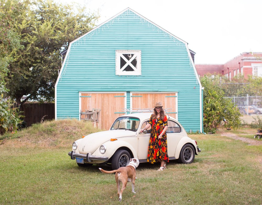 Home, Iggy, and Sheila (my VW). Photo Sean Murphy