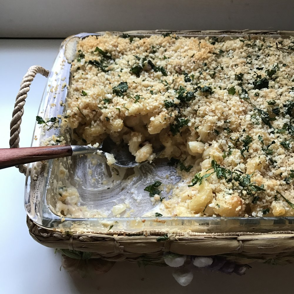Pancetta Macaroni and Cheese