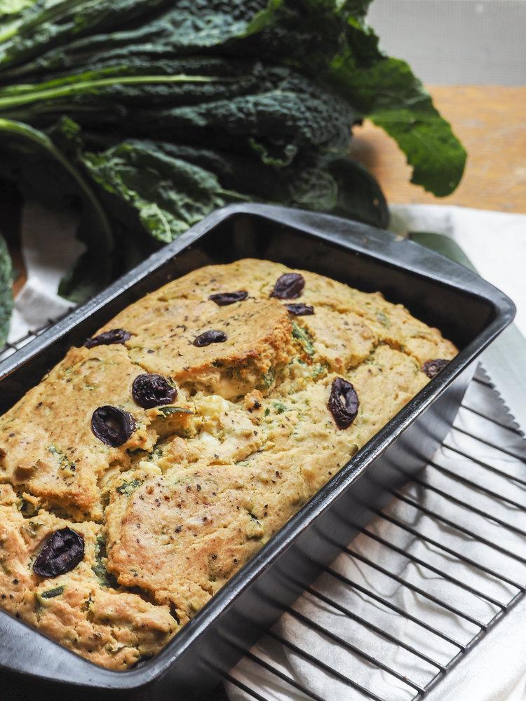 Kale olive feta loaf naturopathic doctor recipe creator the kale olive feta loaf naturopathic doctor recipe creator the nourishing trail forumfinder Images