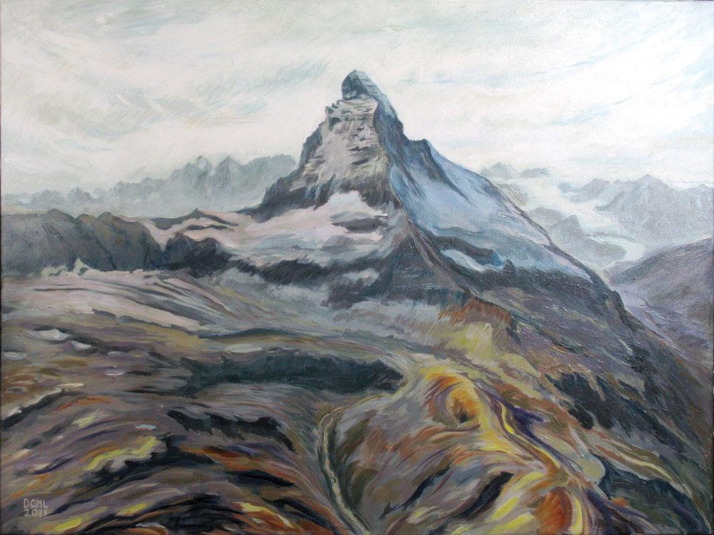 Famous Matterhorn - Sold