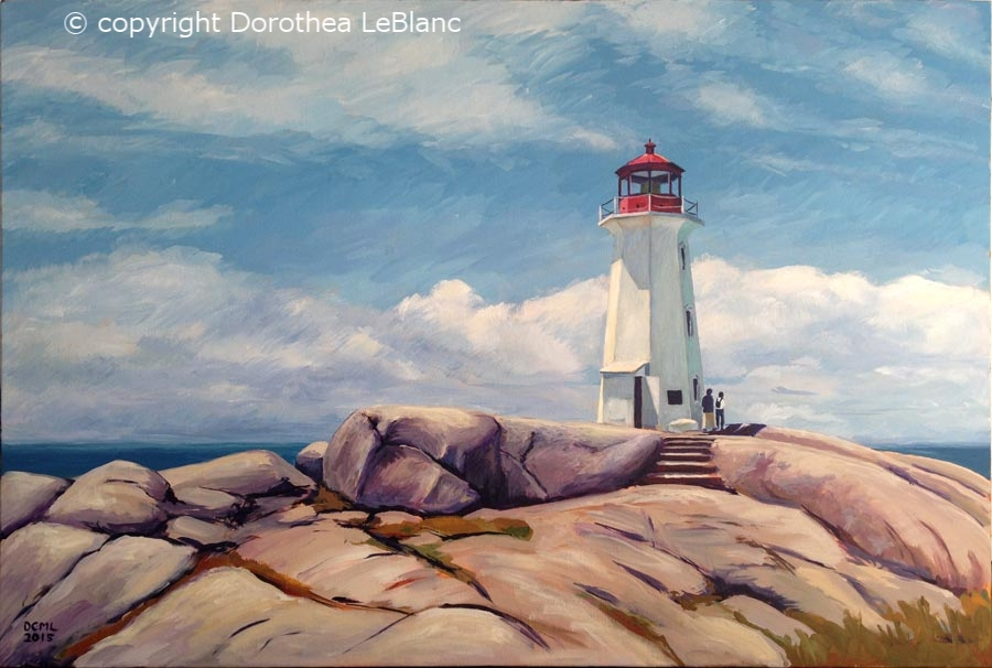 Peggy's Cove Lighthouse, NS - SOLD
