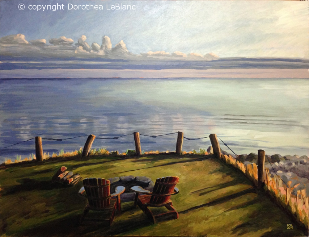 Northumberland Strait Evening - SOLD