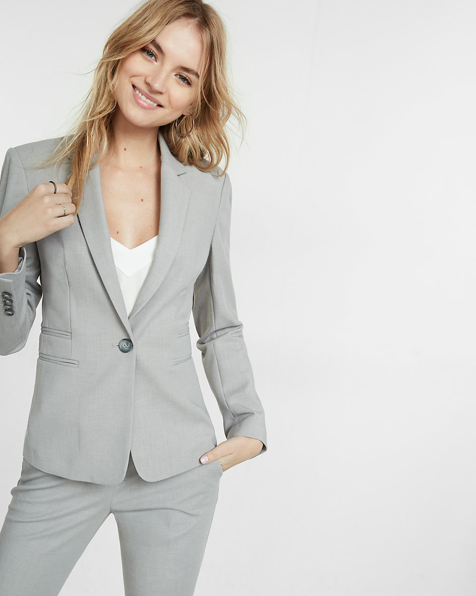 I love this grey blazer! This would be a great option to pair with most anything, which is one of the many reason I love it.
