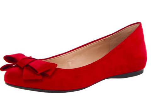 I typically try to avoid red for interviews, but this shoe with the bow is a great exception to the rule. Plus, if your outfit is primarily neutral, a bright shoe and coordinating jewelry could be a great way to introduce color.