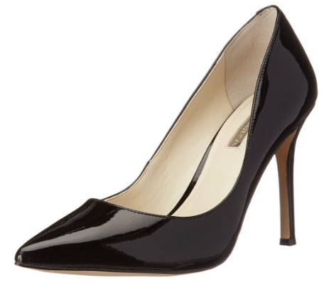 This is another great pump that comes in a variety of colors if you want to add a pop to your outfit. However, the basic black is a very smart look.