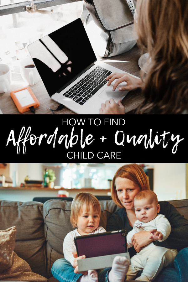 Affordable + Quiality Child Care
