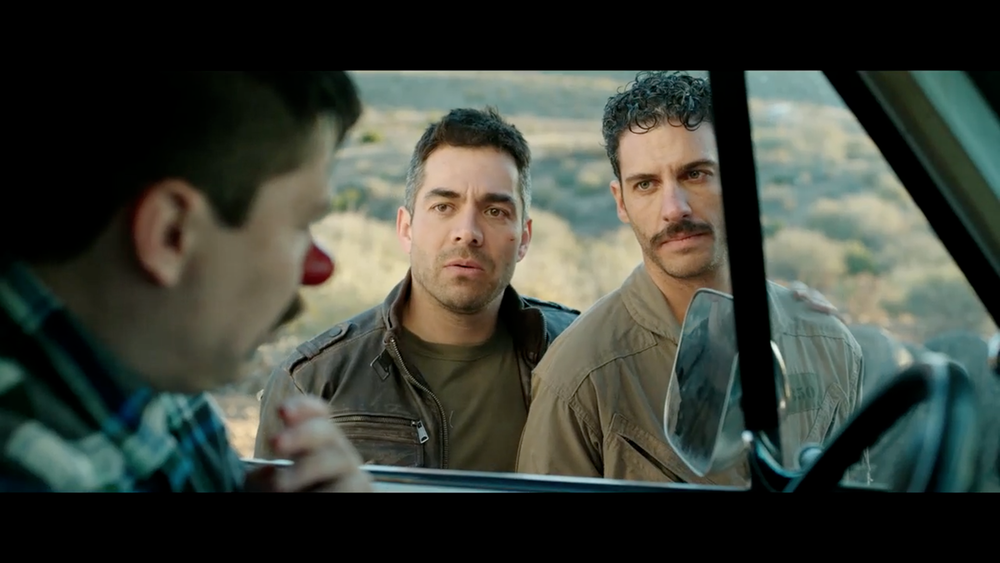3. COMPADRES  Pantelion Films  Enrique Begne's Mexican action comedy  Compadres  co-written with Ted Perkins and Gabriel Ripstein and starring Omar Chaparro made $3.1 million at the U.S. box office.