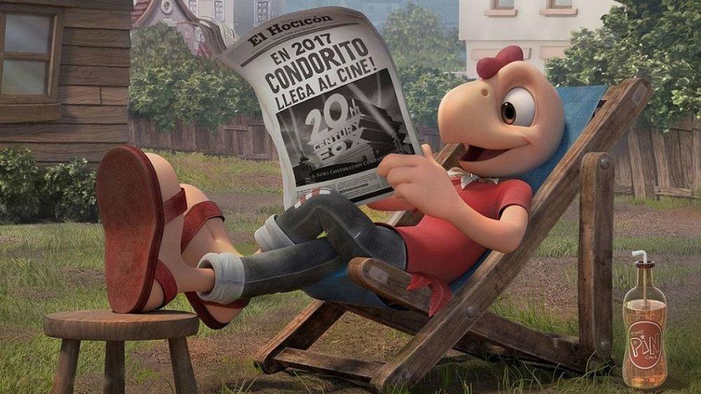 CHILE   The Chilean-Peruvian-Mexican animated film  Condorito, la película  ( Condorito the movie ) by Alex Orrelle and Eduardo Schuldt was the most popular local film in Chile, where the popular comic strip is originally from.