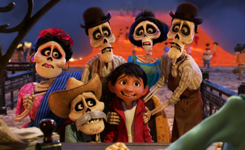 1. COCO  Disney Pixar  Pixar's take on Mexico's Day of the Dead traditions paid of well as the animated movie made more than $198 million in the local box office and became the highest grossing film in Mexico's history.