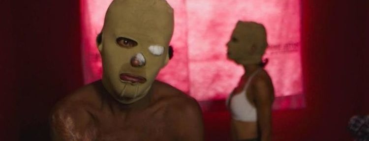 LA LIBERTAD DEL DIABLO / DEVIL'S FREEDOM  (Everardo González, Mexico, 2017, 74 min. In Spanish with English subtitles).  Hidden behind matching beige masks, victims and perpetrators of violence in Mexico reflect on the gruesome events that have come to shape their everyday lives. Stripped of names and faces, individuals are separated by their emotional response and stitched together by their shared fears. Preceded by   Best of Luck with the Wall   (Josh Begley, USA, 2017, 6 min.)   Saturday, February 17, 7pm — Q&A with filmmaker