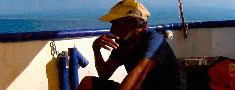 RUINS, YOUR REALM  ( Ruinas tu reino , Pablo Escoto, Mexico, 2016, 64 min. In Spanish with English subtitles. U.S. Premiere)  Buy Tickets   This lyrical and immersive documentary, reminiscent of films by Peter Hutton and Kazuhiro Soda, follows the rhythms of Mexican fishermen in extreme, minute detail. Fish are glimpsed underneath the water and gasping on the deck of a ship; men hoist their nets and sails. Interspersed with these quotidian images are snippets of text and poetry, juxtaposed against a black background.  Screening with  AMUNDSEN'S DOGS  ( Los perros de Amundsen , Rafael Ramírez, Cuba 2017, 27 min. In Spanish and English with English subtitles) Rafael Ramírez connects the avant-garde and the political in this intertwining of fiction and documentary that tells the story of an industrial accidents inspector.   Sunday, March 4, 6:30pm