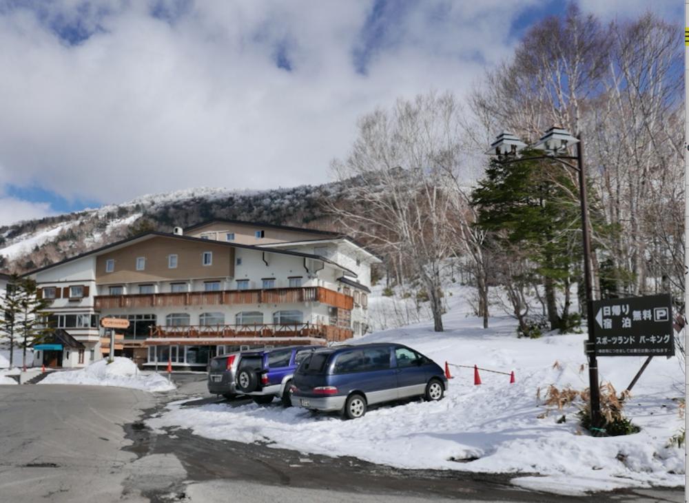 Ski chalet in Shiga Kogen