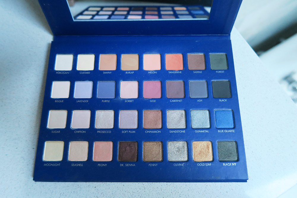 lorac mega pro palette 2 swatches states of reverie