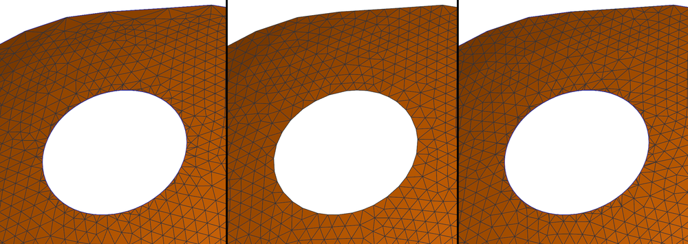 So The Outer Border Gets A Nice Upsampling But Shape Of Internal Hole Is Preserved