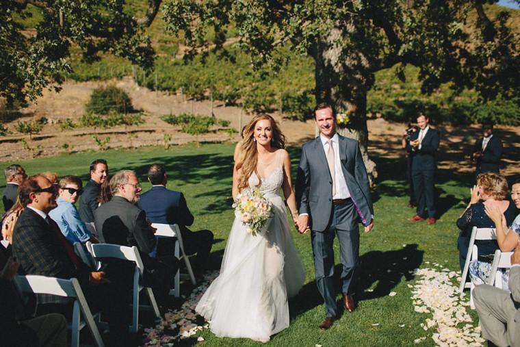 Triunfo Creek Vineyards Wedding Justin Lauren Matthew