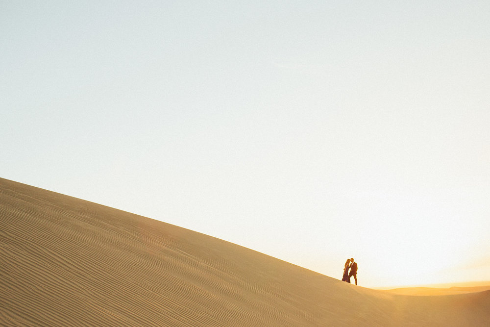 Sand Dunes // Kaitlin & Jordan