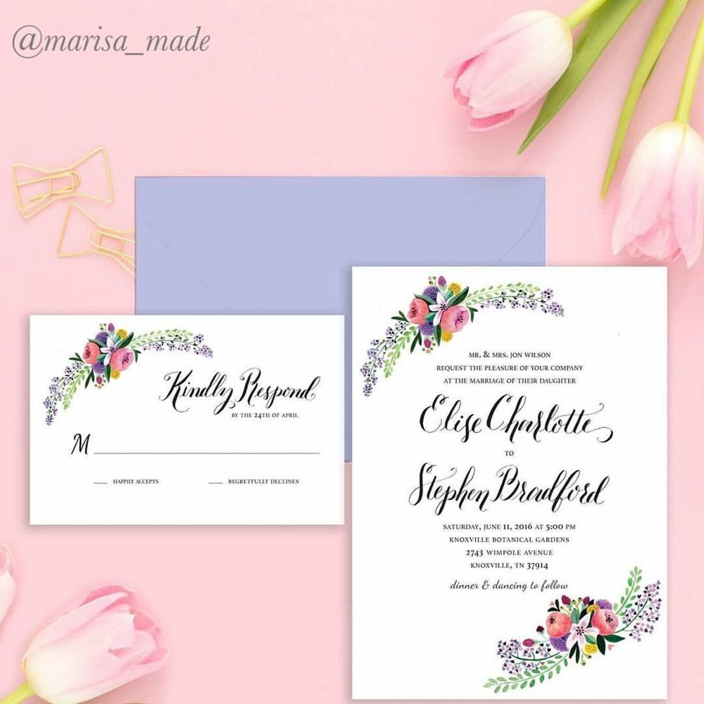 Wedding Stationary & Accessories | The Roadmap to Your WeddingLIESL ...