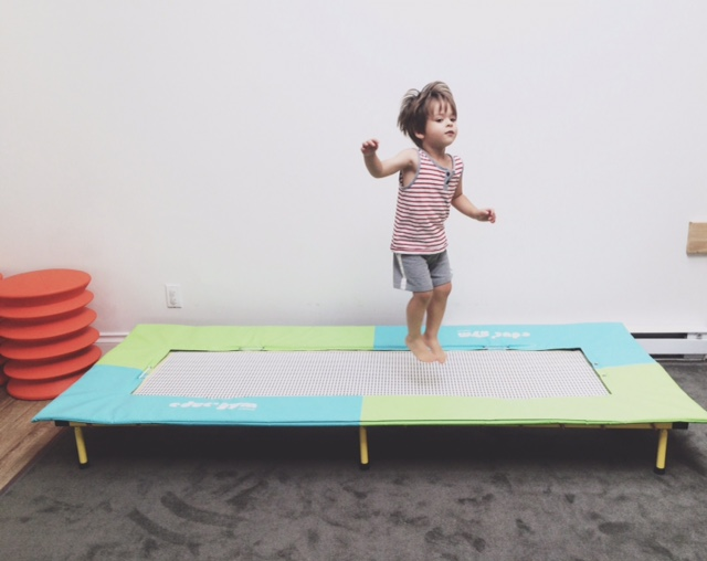 No, we don't have a trampoline in 600 square feet.