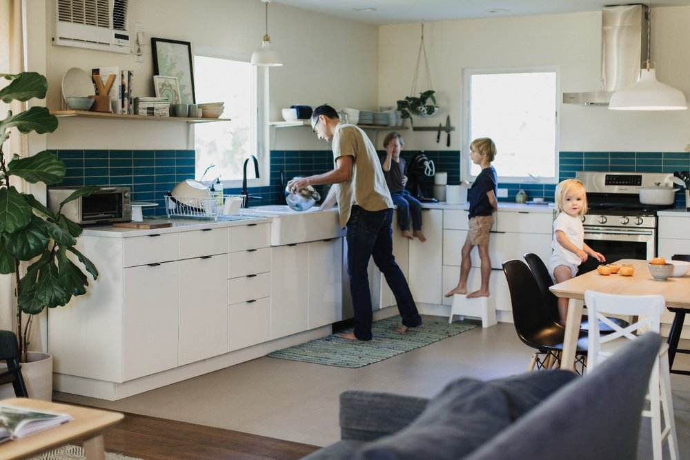 In the Kitchen of Katie  @adutchlife  home | photo:  @stacykeck  | 600sqft Home Tours
