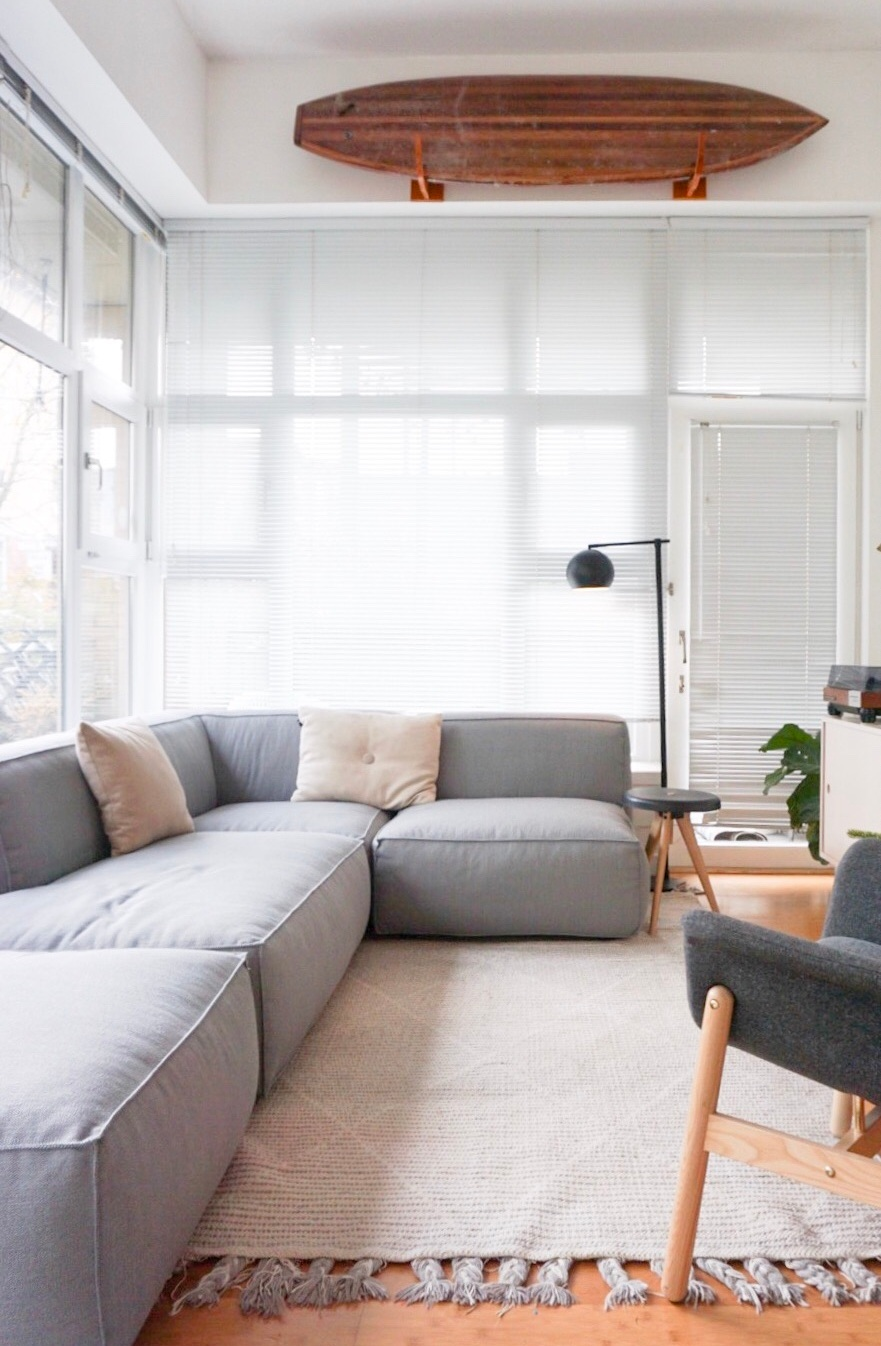 Article Modular Sofa in our Small Apartment.