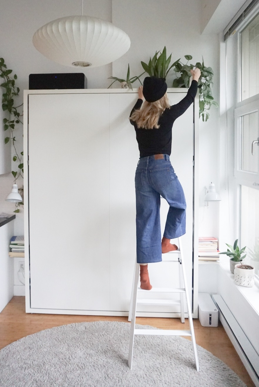 Stupendous Useful And Beautiful Update A Ladder 600Sqftandababy Caraccident5 Cool Chair Designs And Ideas Caraccident5Info