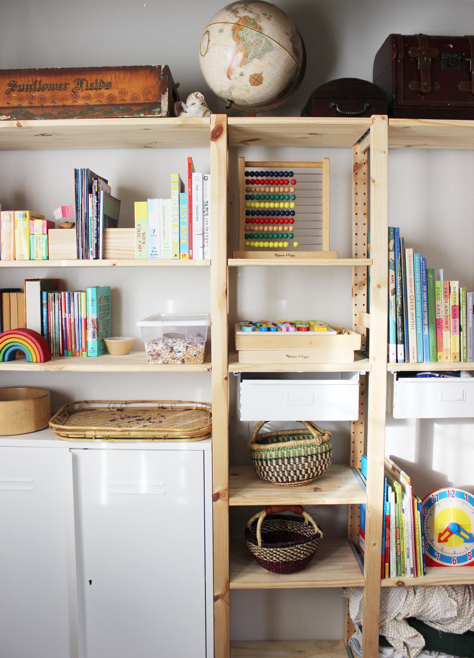 Home Schooling Shelf