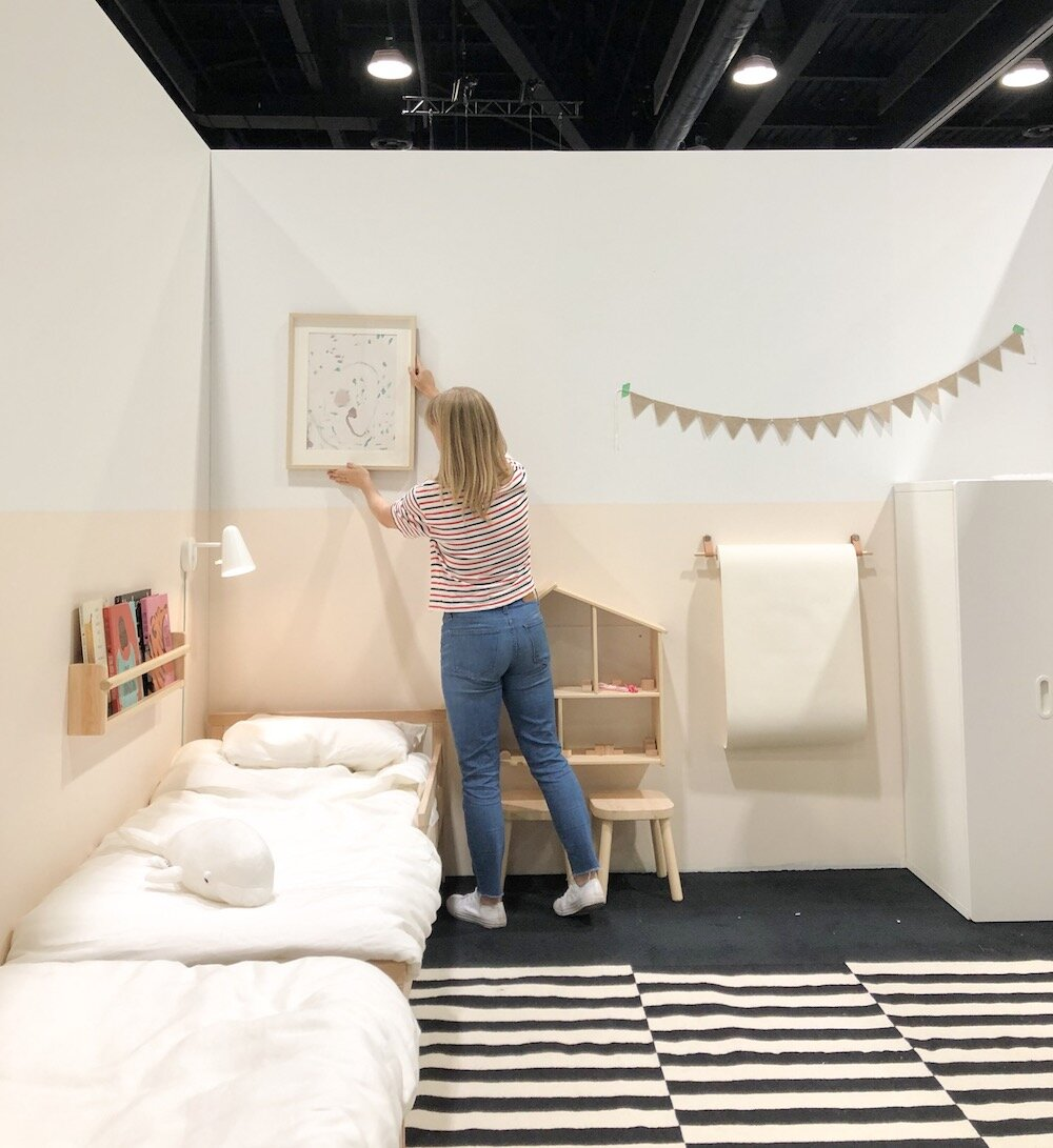 Sma Ll A Small Space With Only Ikea Furniture Part I Kids Bedroom 600sqftandababy